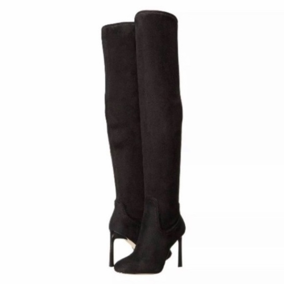 Nine West Shoes - Nine West Uptown Girl Black Over The Knee Boot